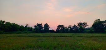 Ljus- och himmelfärg arkivfoton