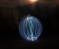 Ljus Orb Arkivfoto