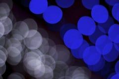 Ljus på bokeh som bakgrund Fotografering för Bildbyråer
