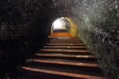 Ljus på slutet av tunnelen Royaltyfri Foto