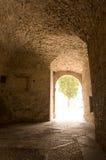 Ljus på slutet av tunnelen Royaltyfri Fotografi
