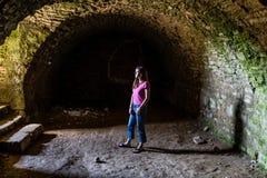 Ljus på slutet av tunnelen Royaltyfri Bild
