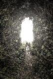 Ljus på slutet av tunnen arkivbilder