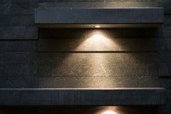 Ljus på texturen Fotografering för Bildbyråer