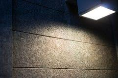 Ljus på texturen Arkivfoton