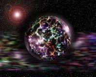 Ljus planet Royaltyfri Fotografi