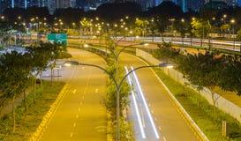 Ljus pol för gata Royaltyfri Bild