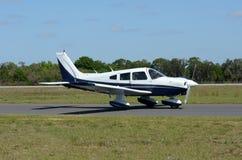 ljus propeller för flygplan Fotografering för Bildbyråer