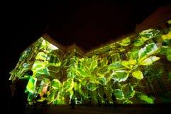 ljus psychedelic show Arkivfoton