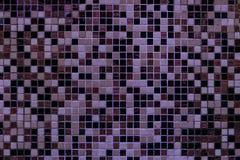 Ljus purpurfärgad fyrkantig mosaik för textural bakgrund fotografering för bildbyråer