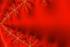 Ljus röd och guld- textur fotografering för bildbyråer