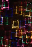 ljus rörelsemodell för blur Royaltyfri Bild