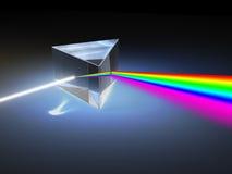 ljus refraktion Fotografering för Bildbyråer