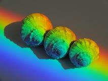 ljus refraktion Arkivfoton