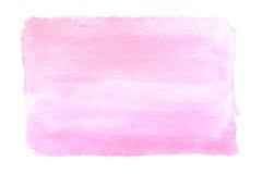 Ljus - rosa vattenfärg Royaltyfri Foto