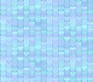 Ljus - sömlös modellbakgrund för blåa hjärtor Royaltyfria Bilder