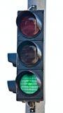 ljus semaphoretrafik Arkivbilder