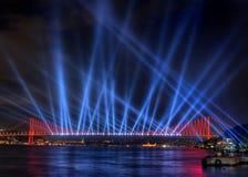ljus show Arkivbilder