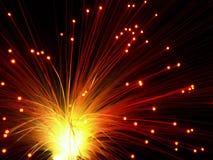 ljus show Arkivfoto