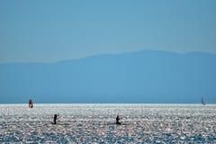 Ljus sjö Royaltyfri Fotografi
