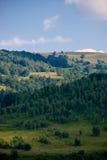 ljus skugga för kullar Arkivfoto