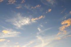 ljus sky Royaltyfri Bild