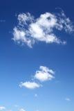 ljus sky för bakgrund Arkivbild