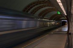 Ljus slutligen av tunnelen Royaltyfria Bilder