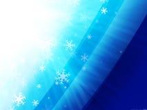 ljus snow Arkivbild