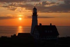 ljus soluppgång Fotografering för Bildbyråer