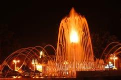 Ljus springbrunn Royaltyfri Fotografi