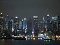 ljus stad fotografering för bildbyråer