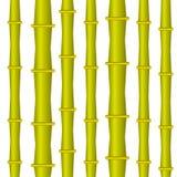 Ljus stam för bambu också vektor för coreldrawillustration Royaltyfria Bilder