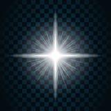 Ljus stjärna 10 för gnistrande royaltyfri illustrationer