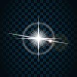 Ljus stjärna 5 för gnistrande royaltyfri illustrationer