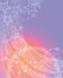 Ljus stjärnabakgrund Royaltyfri Fotografi