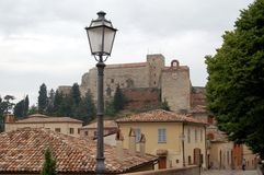 Ljus stolpe i Italien royaltyfri fotografi