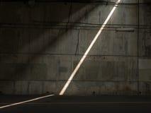 ljus stråle Arkivbild