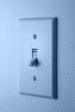 ljus strömbrytare Arkivfoton