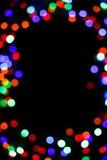 Ljus suddig bokehbakgrund för färg som är unfocused Arkivbild