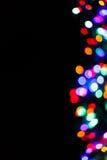 Ljus suddig bokehbakgrund för färg som är unfocused Arkivfoto