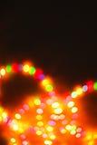 Ljus suddig bokehbakgrund för färg som är unfocused Fotografering för Bildbyråer