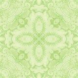 Ljus tappning - grön Tapestry Fotografering för Bildbyråer