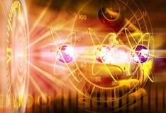 ljus teknologi vektor illustrationer