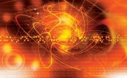 ljus teknologi royaltyfri illustrationer