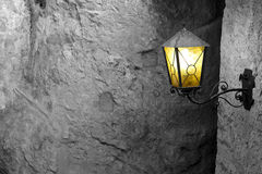 Ljus tid Arkivfoto