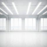 Ljus tom vindinre fotografering för bildbyråer