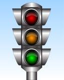 ljus trafik Arkivbild