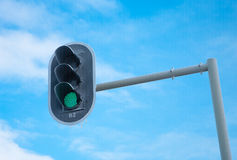 ljus trafik Royaltyfri Fotografi