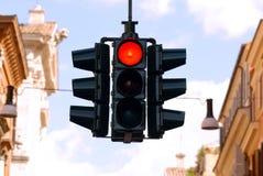 ljus trafik 2 Arkivbilder